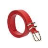 Červený dámsky opasok bata, červená, 951-5601 - 13