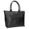 Čierna kožená kabelka bata, čierna, 966-6201 - 13