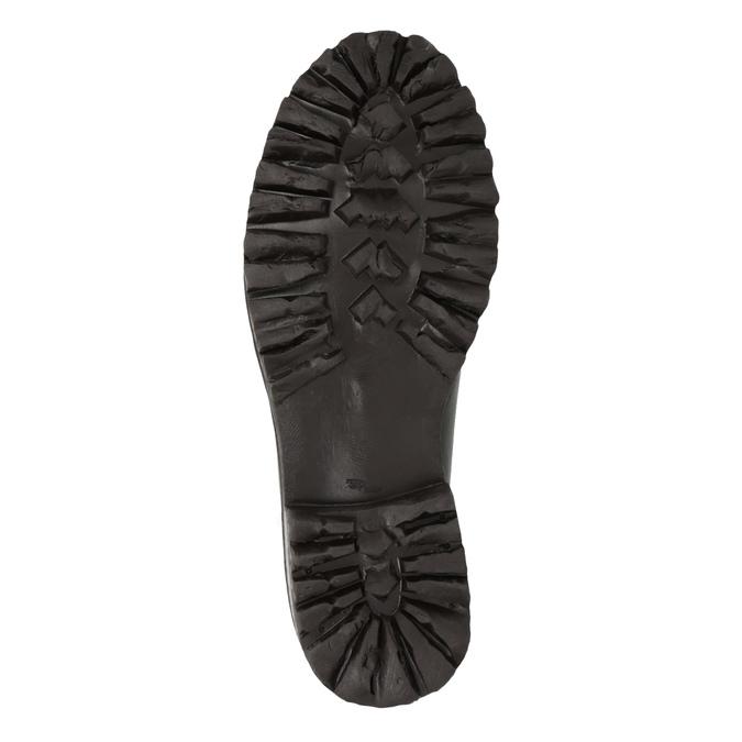 Pánska kožená členková obuv weinbrenner, hnedá, 896-4110 - 26