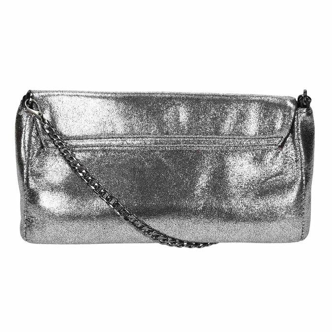 Dámska strieborná listová kabelka bata, strieborná, 969-1220 - 19