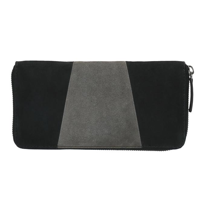 Kožená dámska peňaženka bata, čierna, 946-6100 - 19