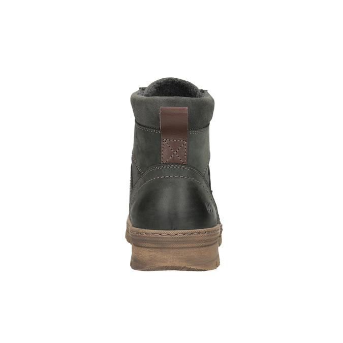 Pánska zimná obuv weinbrenner, šedá, 896-2109 - 17