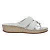 Dámske kožené sandále comfit, biela, 574-1248 - 15