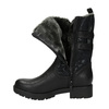 Štýlové dámske čižmy bata, čierna, 599-6610 - 19