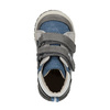 Detská členková obuv s denimovými detailami bubblegummers, modrá, 111-9614 - 19