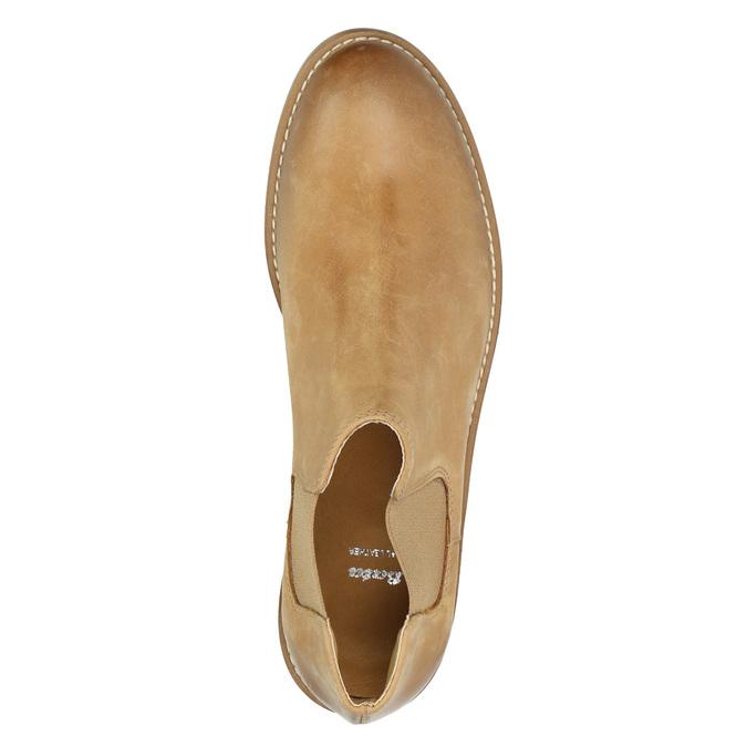 Kožené Chelsea Boots bata, hnedá, 594-3432 - 19