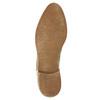 Kožené členkové čižmy s pružnými bokmi bata, béžová, 596-4652 - 26