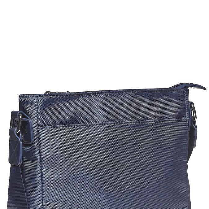 Pánska taška v štýle Crossbody bata, modrá, 961-9508 - 17