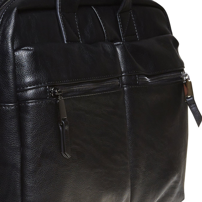 Čierna brašna bata, čierna, 961-6521 - 17
