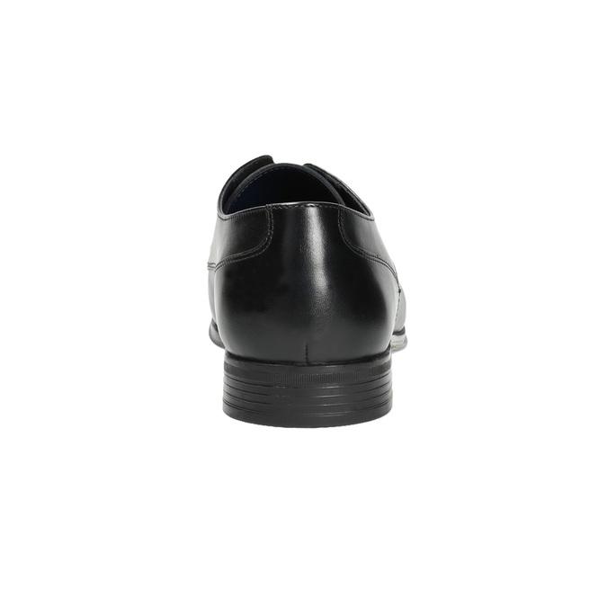 Pánske čierne kožené poltopánky bata, čierna, 824-6813 - 17