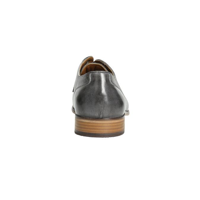 Kožené pánske Ombré poltopánky bata, šedá, 826-2794 - 17