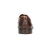 Hnedé kožené poltopánky pánske bata, hnedá, 826-4800 - 17