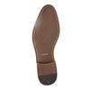 Kožené pánske Ombré poltopánky bata, šedá, 826-2794 - 26