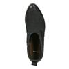 Kožené členkové čižmy čierne bata, čierna, 596-6633 - 19