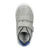 Kožené detské tenisky na suchy zips mini-b, šedá, 214-2600 - 19