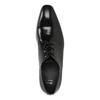 Pánske kožené poltopánky čierne bata, čierna, 824-6818 - 19