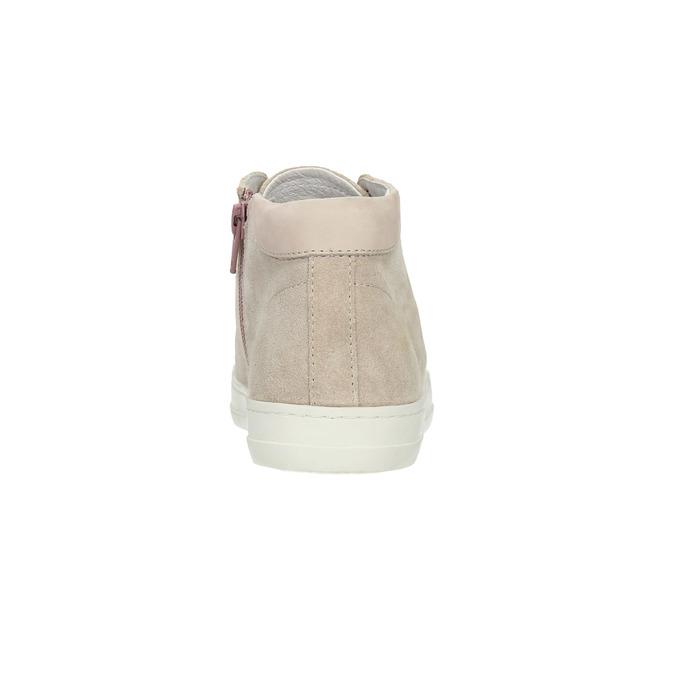 Členkové tenisky so zipsom bata, ružová, 523-5602 - 17