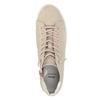 Členkové tenisky so zipsom bata, ružová, 523-5602 - 19