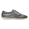 Strieborné kožené tenisky bata, strieborná, 526-6633 - 15