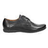 Dámske kožené poltopánky bata, čierna, 526-6635 - 26