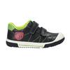 Detská obuv na suchý zips mini-b, čierna, 211-6607 - 15