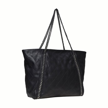 Dámska kabelka s retiazkou bata, čierna, 961-6451 - 13
