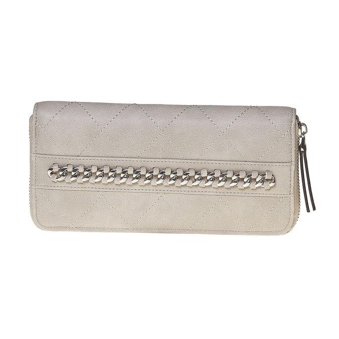 Dámska prešívaná peňaženka bata, béžová, 941-8146 - 17