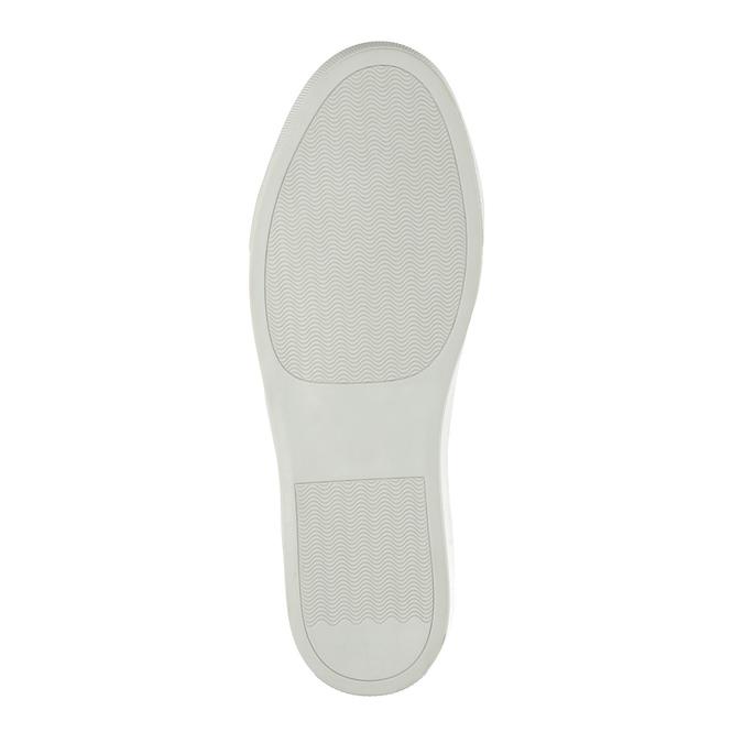 Pánska kožená Slip-on obuv bata, modrá, 833-9600 - 26