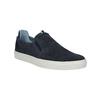 Pánska kožená Slip-on obuv bata, modrá, 833-9600 - 13