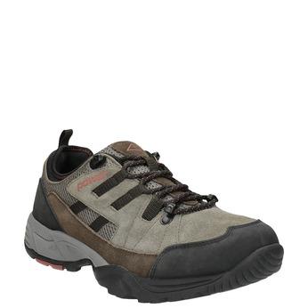 Kožená Outdoor obuv power, hnedá, 803-4118 - 13