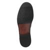 Pánske poltopánky s prešitím bata, čierna, 824-6838 - 26