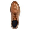 Celokožená členková obuv bata, hnedá, 826-3909 - 19