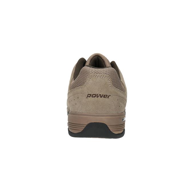 Kožené pánske tenisky power, hnedá, 803-3117 - 17