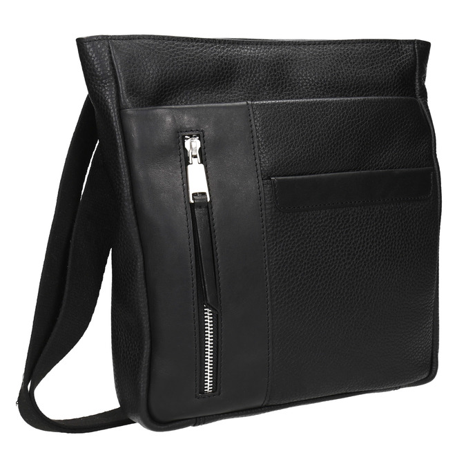 Pánska taška v štýle Crossbody bata, čierna, 964-6230 - 13