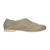 Kožené dámske poltopánky bata, šedá, 526-2619 - 15
