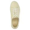 Dámske kožené poltopánky v ležérnom štýle flexible, žltá, 526-8603 - 19