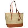 Shopper kabelka s pleteným vzorom gabor-bags, béžová, 961-8073 - 13