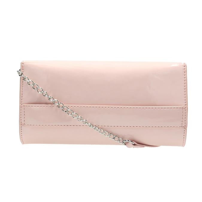 Ružová listová kabelka bata, ružová, 961-5685 - 19