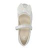 Detské baleríny s mašľou mini-b, biela, 321-1247 - 19