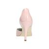 Ružové kožené lodičky insolia, ružová, 728-5635 - 17