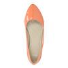 Dámske baleríny bata, oranžová, 521-8602 - 19
