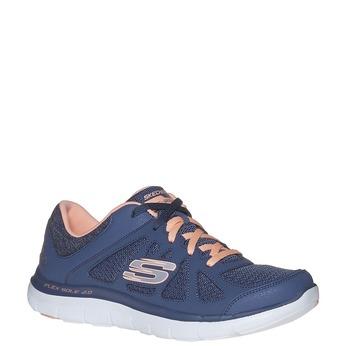 Dámske športové tenisky skechers, modrá, 509-9963 - 13