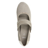 Kožené lodičky šírky H bata, béžová, 623-2600 - 15