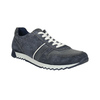 Pánske kožené tenisky bata, modrá, 843-9624 - 13
