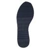 Pánske kožené tenisky bata, hnedá, 843-4624 - 26