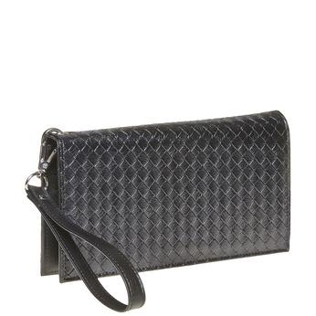 Dámska peňaženka s pútkom bata, čierna, 941-6148 - 13