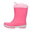Dievčenské gumáky s výraznou podrážkou mini-b, ružová, 392-5111 - 19