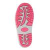 Dievčenské gumáky s výraznou podrážkou mini-b, ružová, 392-5111 - 26