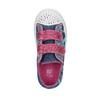 Dievčenské tenisky na suchý zips mini-b, modrá, 229-9183 - 19