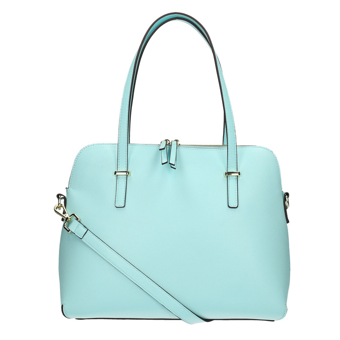 Modrá dámska kabelka bata, modrá, 961-9700 - 19